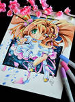 Card Captor Sakura Water Color Painting
