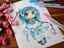 Chibi Ushiko by Lighane