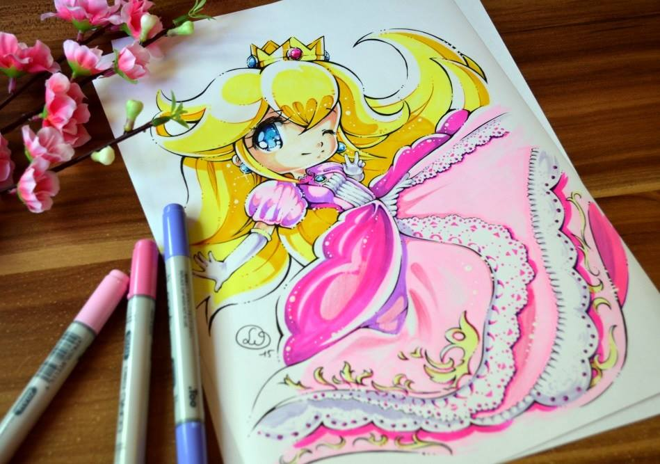 Anime princess dress drawings