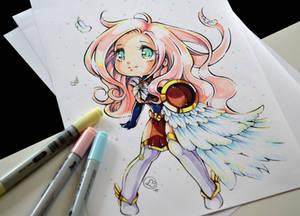 Chibi Warrior Goddess