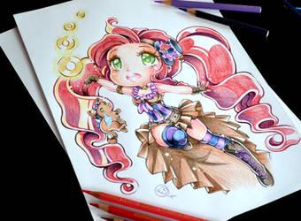 Chibi Steampunk Mage