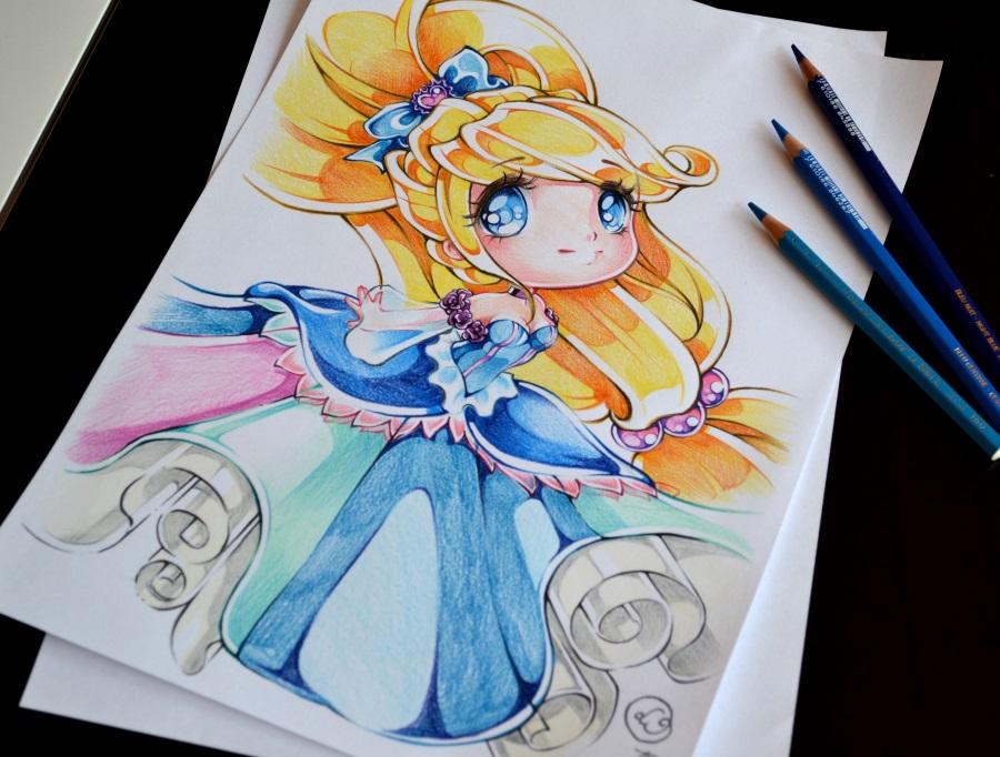Chibi oc princess by lighane on deviantart - Comment dessiner elsa ...
