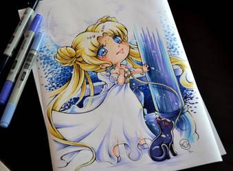 Chibi Princess Serenity by Lighane