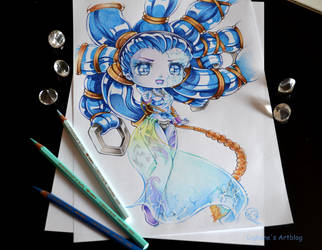 Chibi Shiva by Lighane