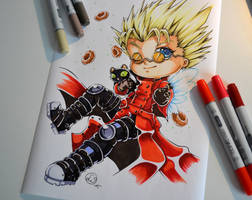 Vash the Stampede and Kuroneko