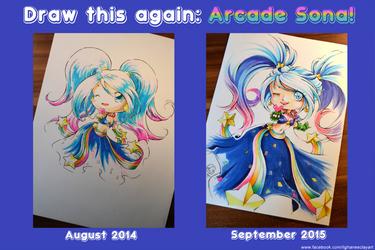 Draw this again - Arcade Sona by Lighane