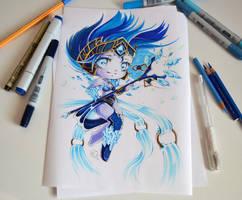 Chibi Frost Queen Janna