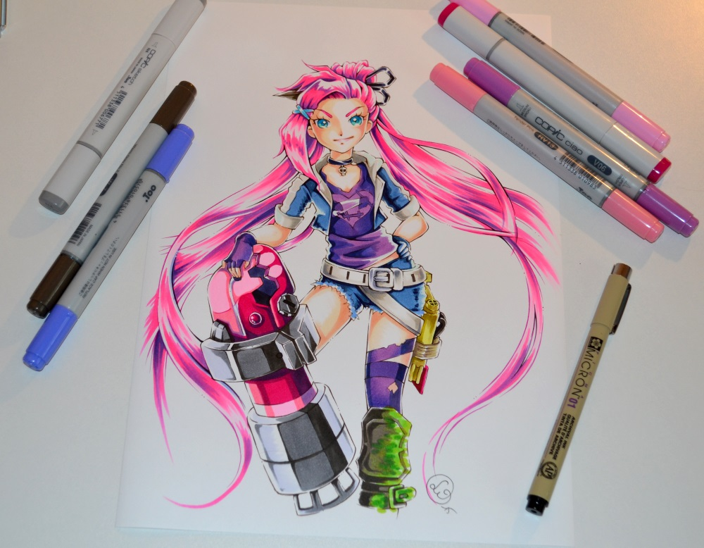 Slayer Jinx Wallpaper Slayer Jinx by Lighane on DeviantArt