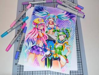 Arcade Trio