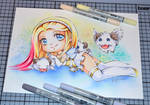 Angel Lux with Poros