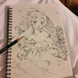 Belle Sketch (Paris Sketch Book) by Lighane