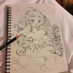 Belle Sketch (Paris Sketch Book)