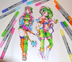Arcade Zyra and Sejuani by Lighane