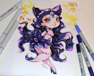 Chibi Catsy by Lighane
