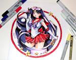 Sailor Mars Tattoo