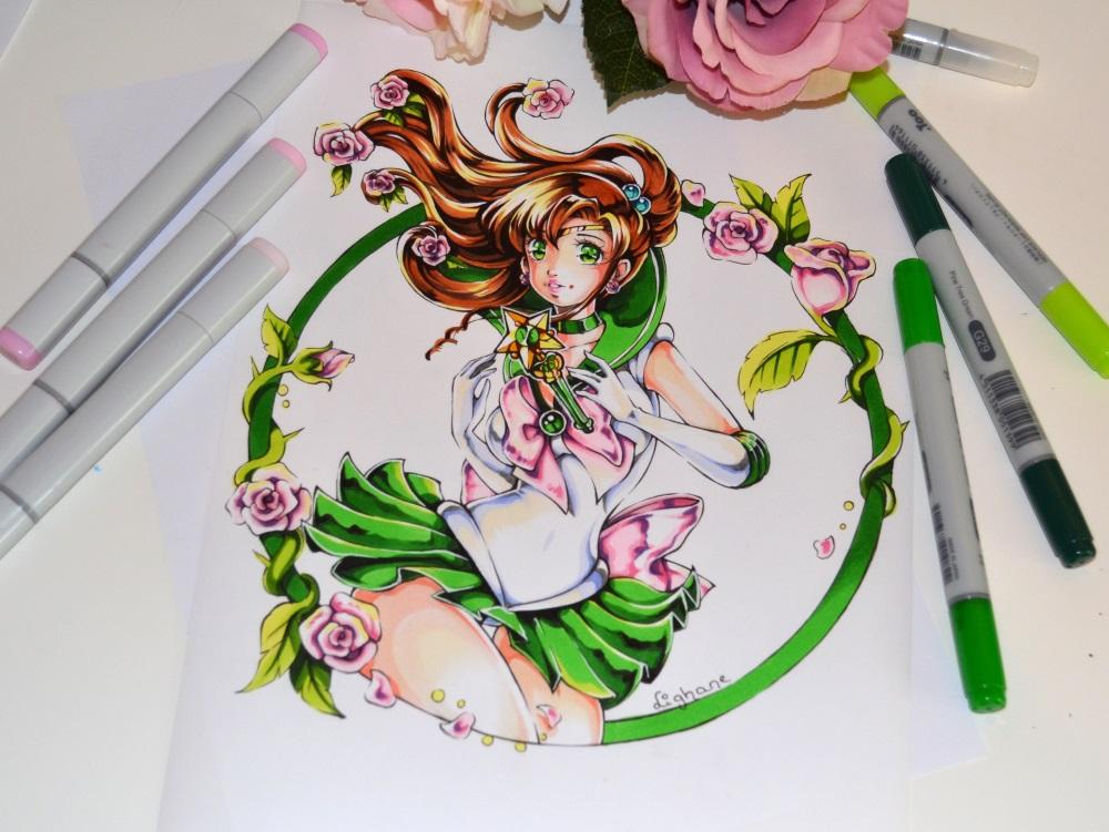 Sailor moon sailor jupiter