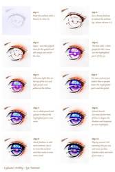 Tutorial: Colorful Eyes by Lighane