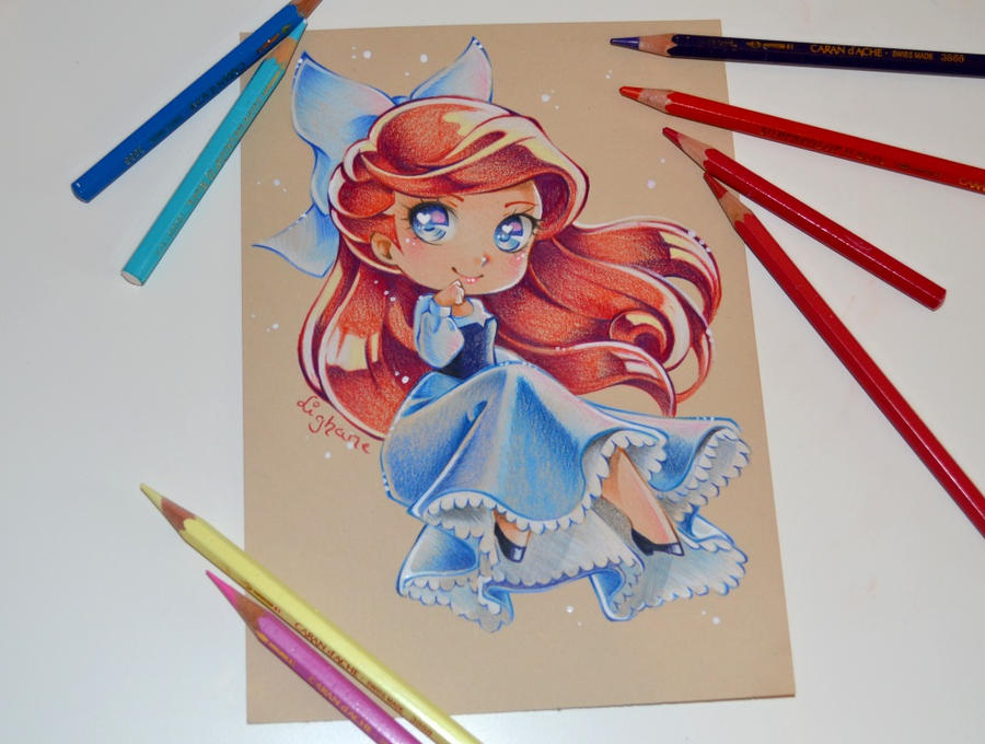 Chibi Ariel By Lighane On Deviantart