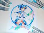 Sailor Mercury Tattoo