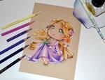 Chibi Rapunzel