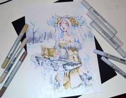 Snow Princess Sona by Lighane