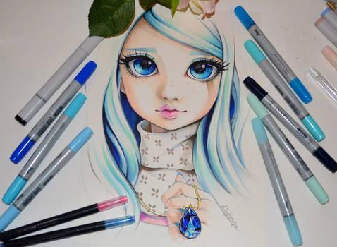 Celeste aka Lady Sapphire