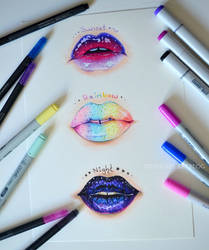 Juicy Lips by Lighane