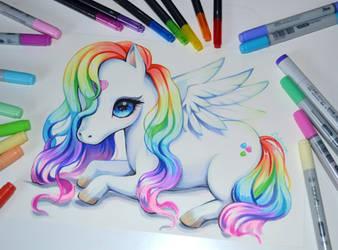 Pegasus by Lighane