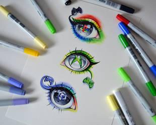Gaming Eyes by Lighane