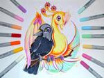 Phoenix and Raven