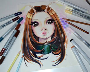Mantis by Lighane