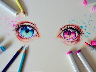 Broken Eyes by Lighane
