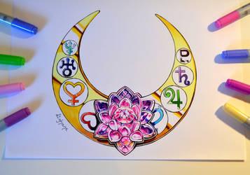 Sailor Moon Tattoo by Lighane