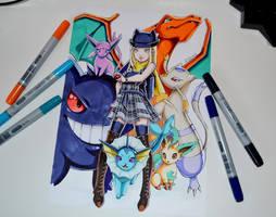 Pokemon Team by Lighane
