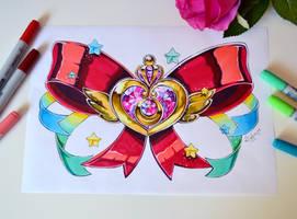 Super Sailor Moon Brooch by Lighane