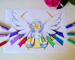 Sailor Cosmos Brooch by Lighane
