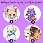 Which Fantasy Pet would be Yours?