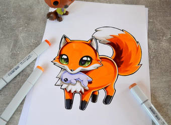 Plushie Pets - Fox by Lighane