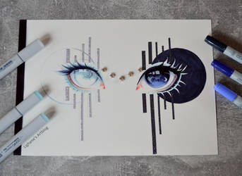 Black and White by Lighane