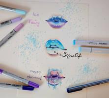 Winter Lips by Lighane