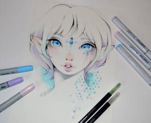 Jade - the Snow Elf