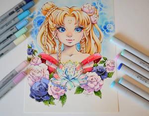 Floral Sailor Moon