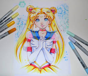Sailor Moon by Lighane