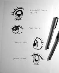 Famous Manga Eyes