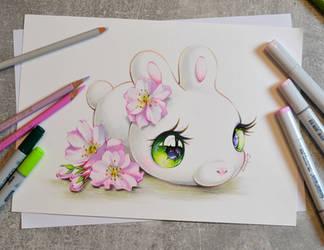 Sakura Mochi Bun by Lighane
