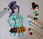 Vanellope from Wreck it Ralph