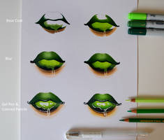 Juicy Lips - Stey by Step by Lighane