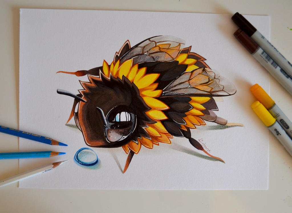 Lil' Bumblebee by Lighane