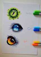 Animal Eyes by Lighane