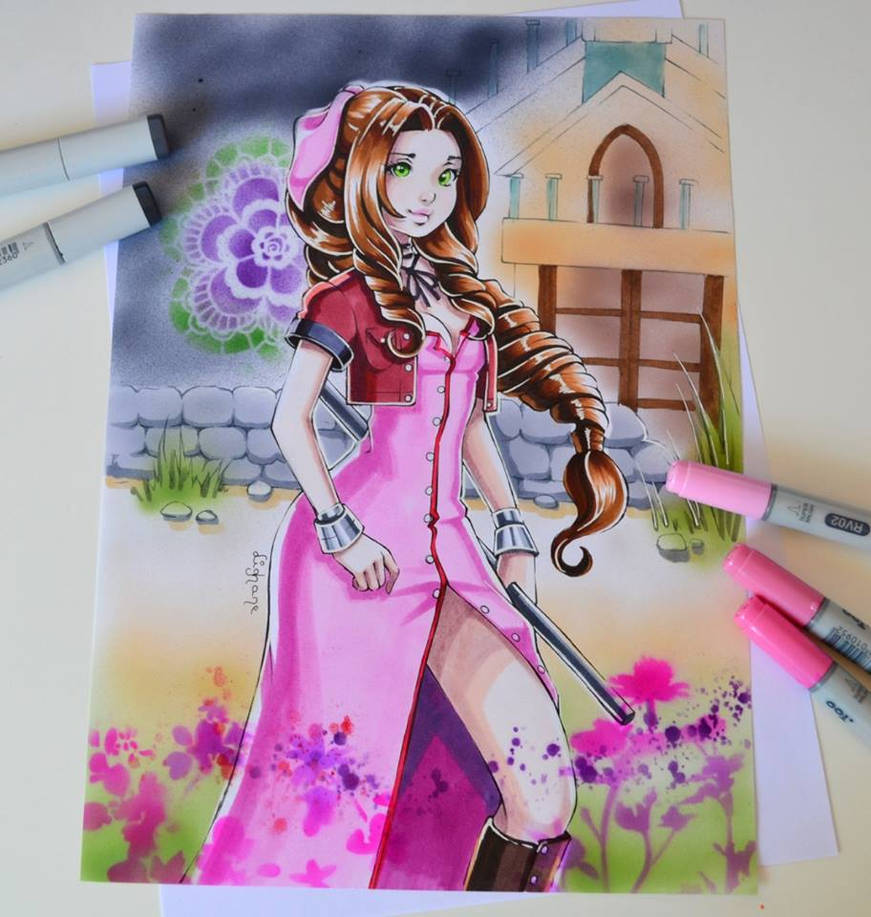 Aerith by Lighane
